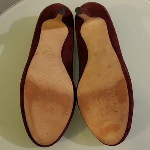 MICHAEL Michael Kors Shoes - Michael by Michael Kors York Suede Platform Pumps